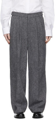Juun.J Grey Wool Trousers