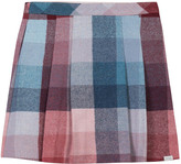 Paul Smith Checked Pleated Maura Skirt