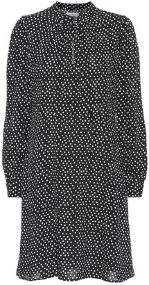 Velvet Delores polka-dot minidress