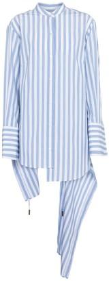 Monse Pinstriped cotton shirt