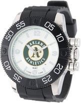 Game Time Men's MLB-BEA-OAK Beast Oakland Athletics Round Analog Watch