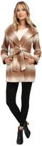 Jessica Simpson Brushed Wool Wrap Coat