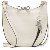 Vince Camuto Polli Leather Crossbody Bag - White