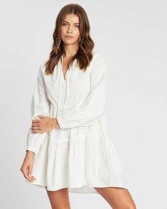Atmos & Here Gemma V-Neck Mini Dress