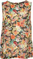 Tall Multi Floral Sleeveless Blouse