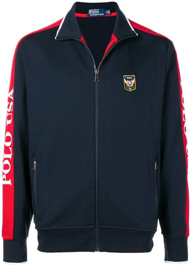 Polo Ralph Lauren zipped sweatshirt