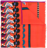 Etro multi printed scarf - women - Cashmere/Wool - One Size