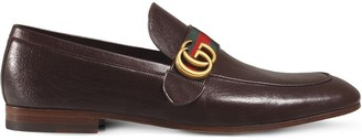Gucci GG Web loafers
