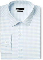 Bar III Slim-Fit Light Blue Twill Gingham Dress Shirt, Only at Macy's