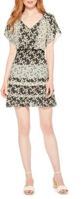 Parker Augustine Silk Blend Minidress