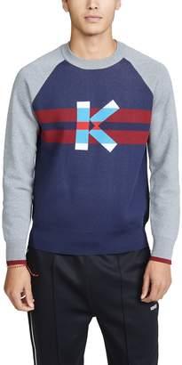 Kenzo Long Sleeve Graphic K Jumper Sweater