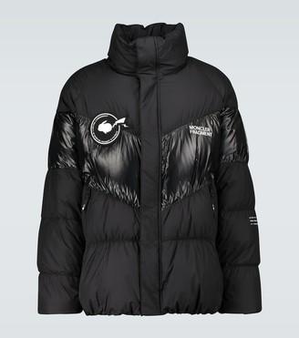 MONCLER GENIUS 7 MONCLER FRAGMENT Blain logo puffer jacket