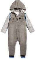 First Impressions 2-Pc. T-Shirt & Hooded Coverall Set, Baby Boys (0-24 months), Only at Macy's