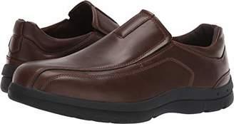 Deer Stags Men's Saxon Memory Foam Classic Runoff Toe Dress Comfort Slip-On Loafer 11.5 W US