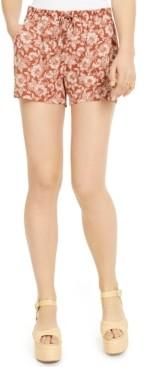 BeBop Juniors' Floral-Printed Shorts