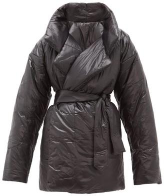 Norma Kamali Sleeping Bag Reversible Coat - Black