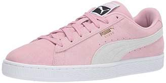 Puma Men's Suede Classic Sneaker Molé White