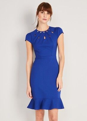 Phase Eight Lelly Ponte Stud Dress