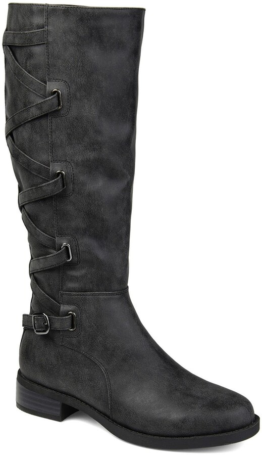 Lace Up Tall Boots Women Back | Shop