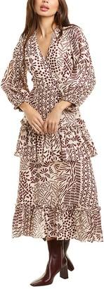 Alexis Tereasa Linen Maxi Dress
