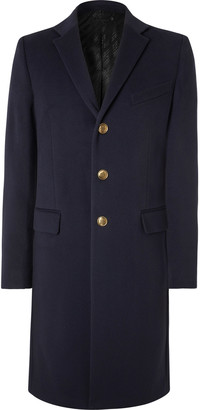 Givenchy Wool And Cashmere-blend Overcoat - Blue
