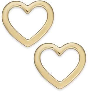 Alfani Gold-Tone Open Heart Stud Earrings, Created For Macy's