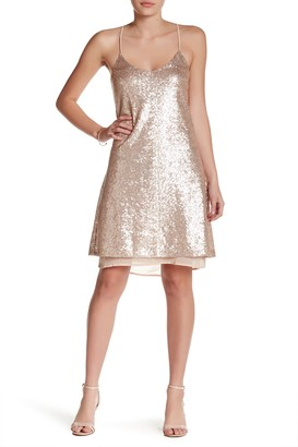 Free Press Sequin Slip Dress