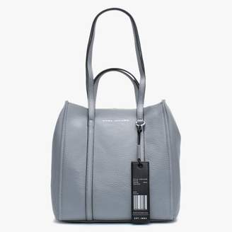 Marc Jacobs The Tag 27 Grey Pebbled Leather Tote Bag