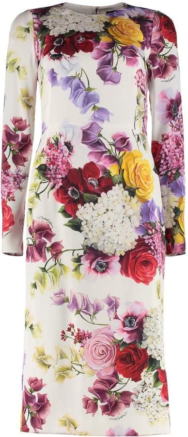 9784f846 Dolce & Gabbana White Midi Dresses - ShopStyle Canada