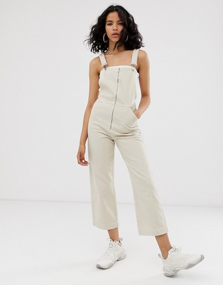 Asos zip front crop dungaree