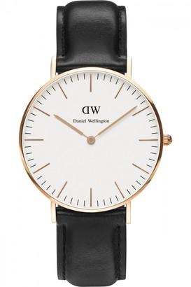 Daniel Wellington Ladies Sheffield Rose 36mm Watch DW00100036