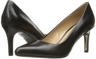 Naturalizer Natalie (Black Leather) High Heels
