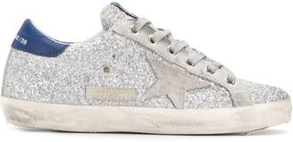 Golden Goose classic star glitter sneakers