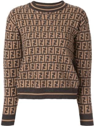 Fendi Pre-Owned Zucca monogram jumper