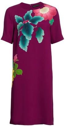 Etro Japanese Floral T-Shirt Dress