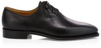 Corthay Single Cut Leather Dress Shoes