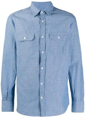 Glanshirt Chambray Slim Fit Shirt