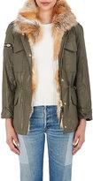 SAM. Women's Fox-Fur-Lined 3-In-1 Field Jacket