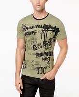 INC International Concepts I.n.c. Men's Graffiti-Print T-Shirt, Created for Macy's