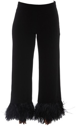 P.A.R.O.S.H. Feather Trimmed Trousers