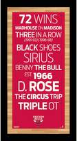 """Steiner Sports Chicago Bulls 19"""" x 9.5"""" Vintage Subway Sign"""