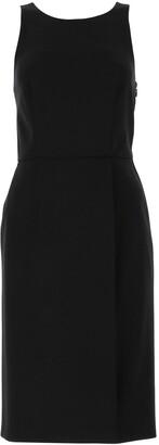 Givenchy Graphic Neckline Sleeveless Dress