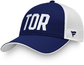 Women's Fanatics Branded Blue/White Toronto Maple Leafs Iconic Trucker Adjustable Hat