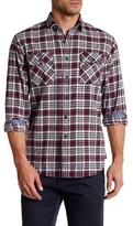 James Campbell Camilla Plaid Regular Fit Shirt
