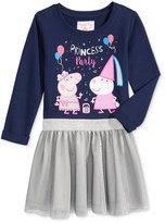 Nickelodeon Nickelodeon's Peppa Pig Party Tutu Dress, Little Girls (4-6X)