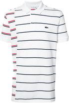 Lacoste stripe polo shirt - men - Cotton - S