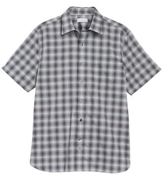 Hickey Freeman Bond Yarn Dye Regular Fit Shirt