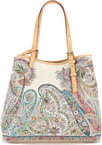 Etro paisley print tote bag - women - Calf Leather - One Size