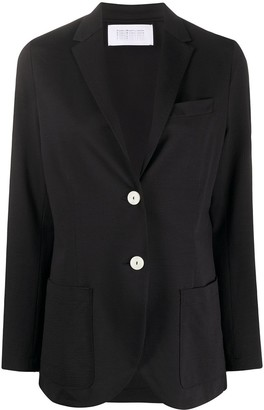 Harris Wharf London Single-Breasted Boyfriend Blazer