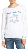 Wildfox Couture Women's Happy Challahdays Pullover